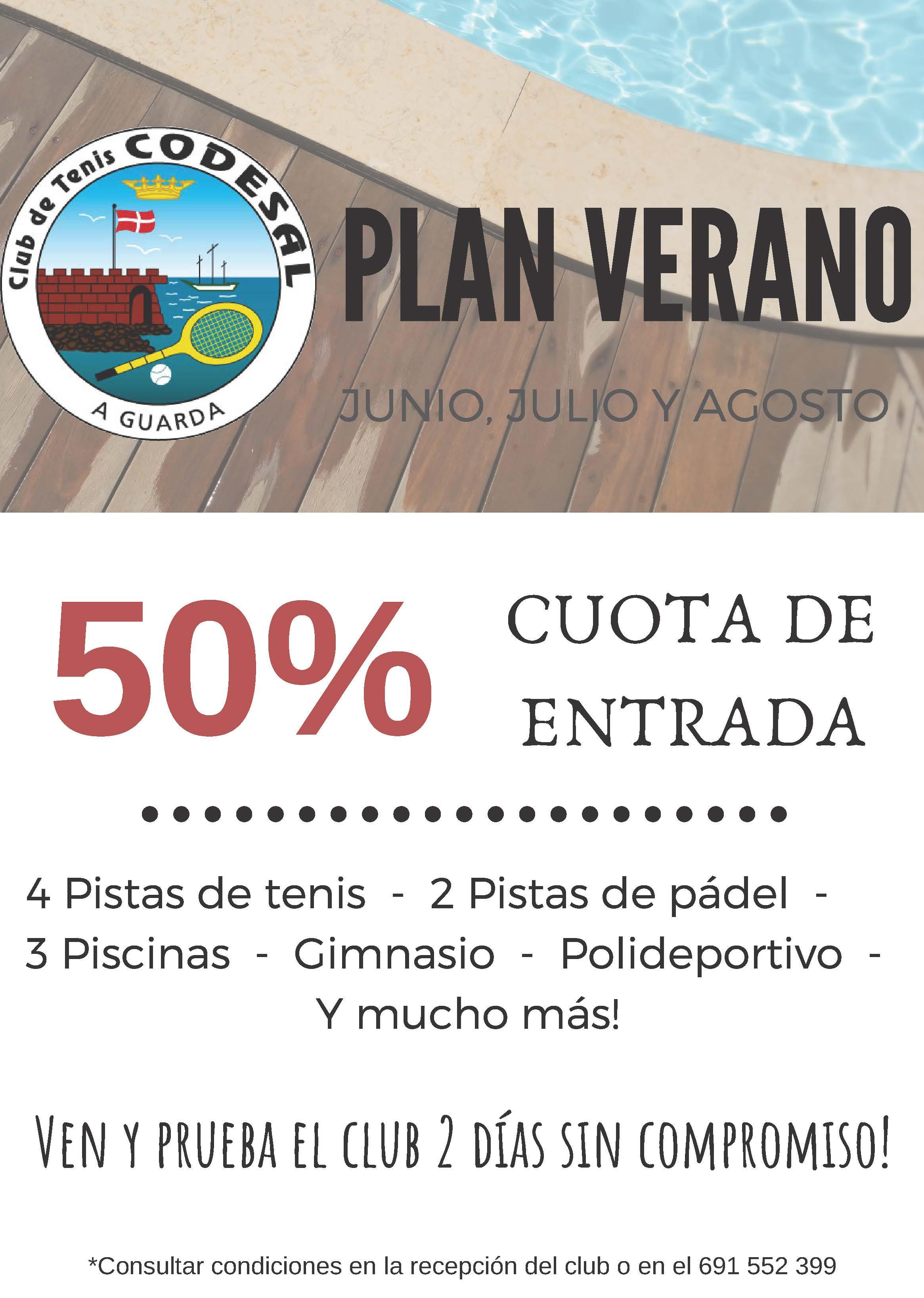 Oferta 50% Plan Verano