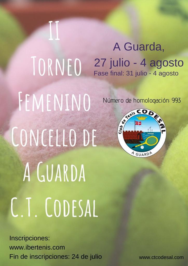 II Torneo femenino Concello de A Guarda C.T. Codesal