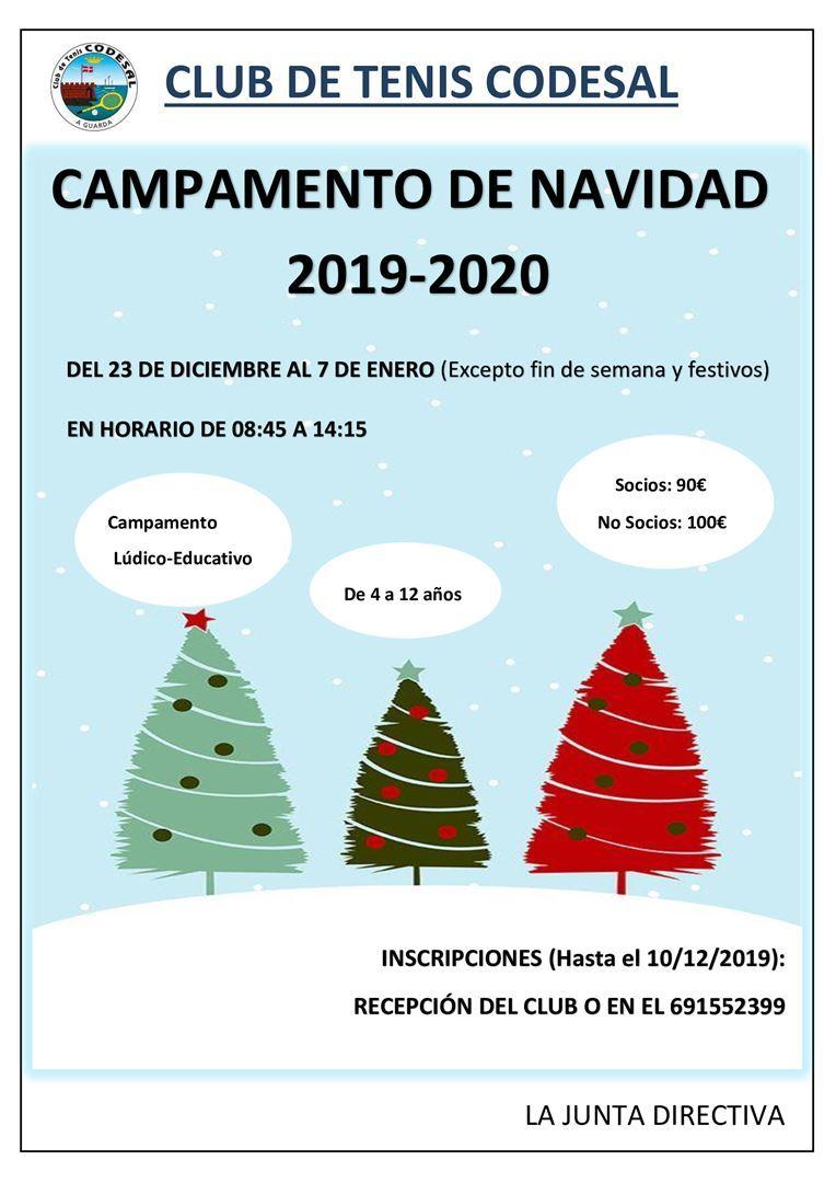 Campamento de Navidad 2019-2020